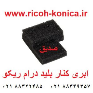 ابری کنار بلید درام ریکو آفیشیو ماشینهای اداری صدیق قطعات ریکو B065-2316 B065-2317 B0652316 B0652317 B065 2316 B065 2317 Rear Drum Seal Front Seal For Drum sedigh office machine